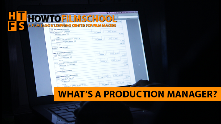 Working as a Production Manager